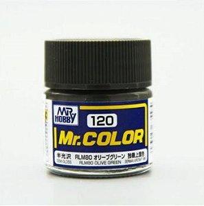 Gunze - Mr.Color 120 - RLM80 Olive Green (Semi-Gloss)