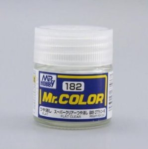 Gunze - Mr.Color 182 - Flat Clear