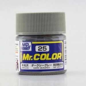 Gunze - Mr.Color 25 - Dark Seagray (Semi-Gloss)