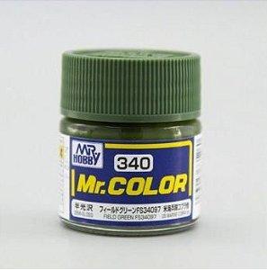 Gunze - Mr.Color 340 - Field Green FS34097 (Semi-Gloss)