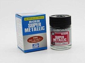 Gunze - Mr.Color Super Metallic SM06 - Chrome Silver