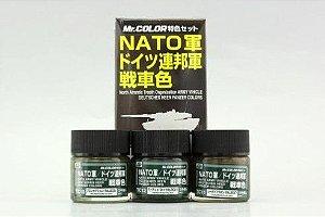 GUNZE - Tank Colors for NATO - CONJUNTO TINTAS OTAN