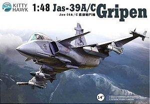 KITTY HAWK - JAS-39A/C GRIPEN - 1/48