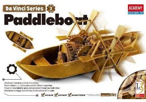 Academy - Da Vinci's Paddleboat