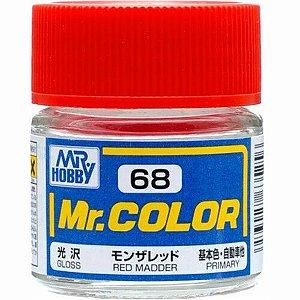 Gunze - Mr.Color 068 - Madder Red (Gloss)