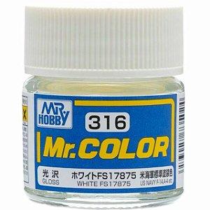 Gunze - Mr.Color 316 - White FS17875 (Gloss)