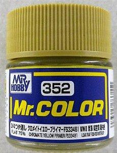 Gunze - Mr.Color 352 - CHROMATE YELLOW PRIMER FS33481 (Flat)