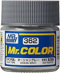 Gunze - Mr.Color 362 - OCEAN GRAY (Flat)