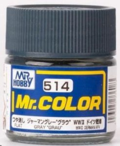 "Gunze - Mr.Color 514 - GRAY ""GRAU"" (Flat)"
