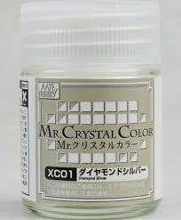 Gunze - Mr.Crystal Color XC01 - Diamond Silver