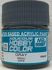 Gunze - Aqueous Hobby Colors 022 - Gray (Gloss)