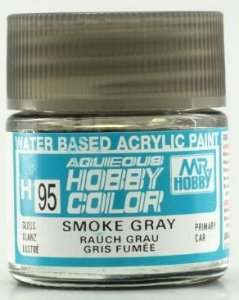 Gunze - Aqueous Hobby Colors 095 - Clear Smoke Gray (Gloss)