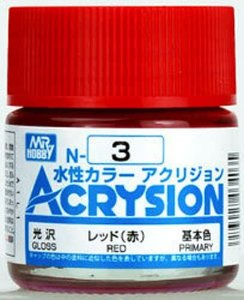 Gunze - Acrysion Color 003 - Red (Gloss)