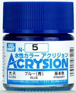 Gunze - Acrysion Color 005 - Blue (Gloss)