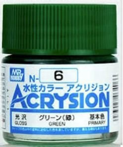 Gunze - Acrysion Color 006 - Green (Gloss)