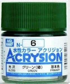 Gunze - Acrysion Color 006 - Green (Gloss)