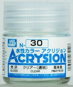 Gunze - Acrysion Color 030- Clear (Verniz Brilhante)