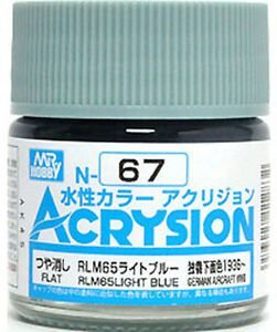 Gunze - Acrysion Color 067 - RLM65 Light Blue (Semi-Gloss)