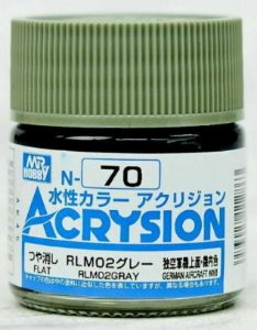 Gunze - Acrysion Color 070 - RLM02 Gray (Semi-Gloss)
