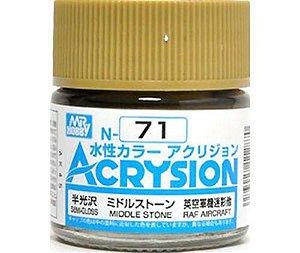 Gunze - Acrysion Color 071 - Middle Stone (Semi-Gloss)