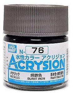 Gunze - Acrysion Color 076 - Burnt Iron (Metallic)