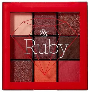 RK Paleta de Sombras de 9 cores Ruby