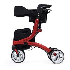 Andador com 4 rodas Joy com Assento