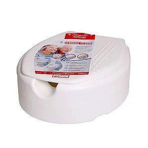 Assento Sanitário Elevado com tampa 13,5 cm Mebuki