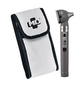 Otoscópio Pocket Led Cinza Omni 3000 Com Estojo Md