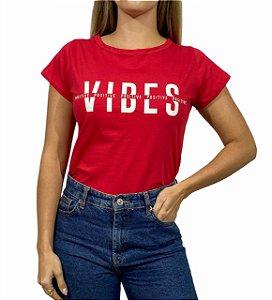 Tshirt Vibes Vermelha