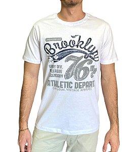 Camiseta Branca Estampada