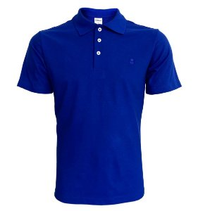 Camiseta Polo Basic Azul Royal