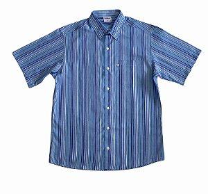Camisa Listrada Azul