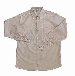 Camisa Maquinetada Salmão