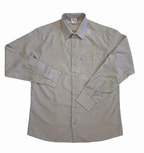 Camisa Maquinetada Cinza