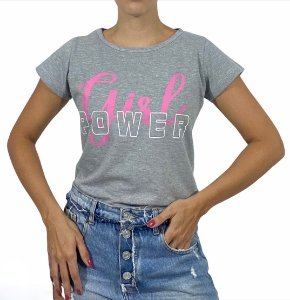 Tshirt Feminina Girl Power