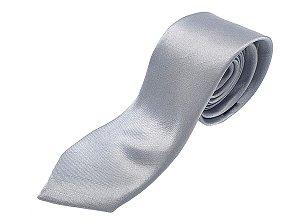 Gravata Prata Brilhante