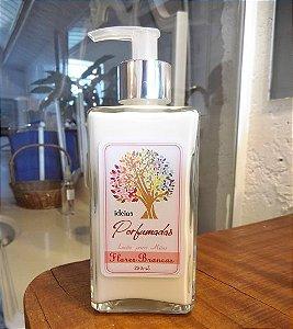 Loção para Mãos | Flores Brancas| 250 ml