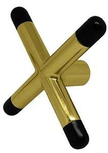 Cruzeta em Metal Dourado - Importado