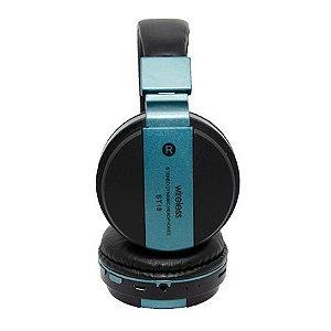 Fone de Ouvido SXZ ST18 Wireless Azul