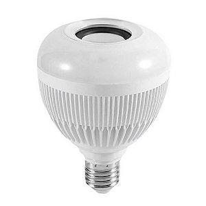 Lâmpada SXZ Bluetooth LED Colorido Controle Remoto