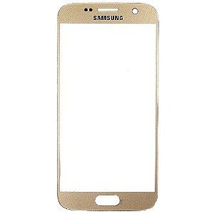 Pç Samsung Vidro S7 G930 Dourado