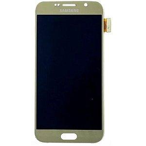 Pç Samsung Vidro S6 G920 Dourado