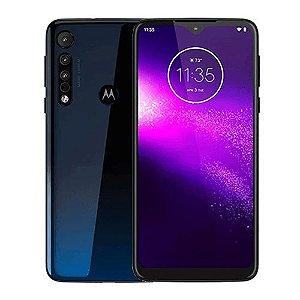 Smartphone Motorola One Macro XT 2016-2 64GB 4GB Azul