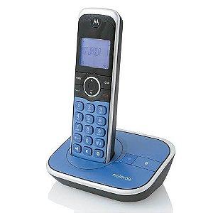Telefone Motorola Sem Fio Gate 4800 Azul
