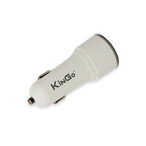 Fonte Veicular Kingo C304 Dual 3.4A