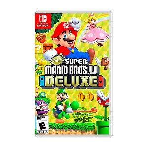 Jogo Super Mario Bros U Deluxe - Switch