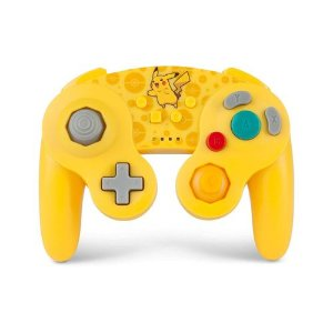 Controle GameCube Sem Fio Pikachu - Switch