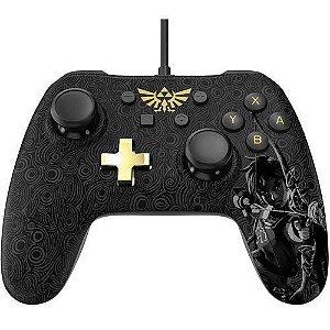 Controle Wired Super Mario Preto - Switch