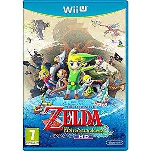 Jogo The Legend of Zelda Wind Waker - Wii U (Seminovo)